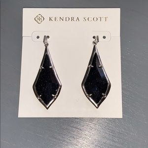 Kendra Scott Earrings Olivia iridescent black